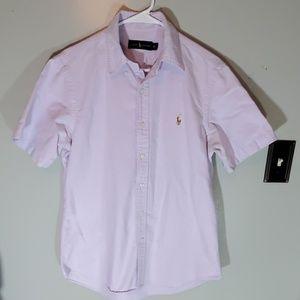 - Short sleeve Ralph Lauren button down